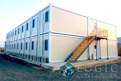 Дом из контейнеров в Туле, мобильные здания, модульные здания, модульные контейнеры-бытовки, блок-контейнеры