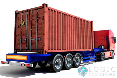 доставка контейнеров, перевозка контейнеров